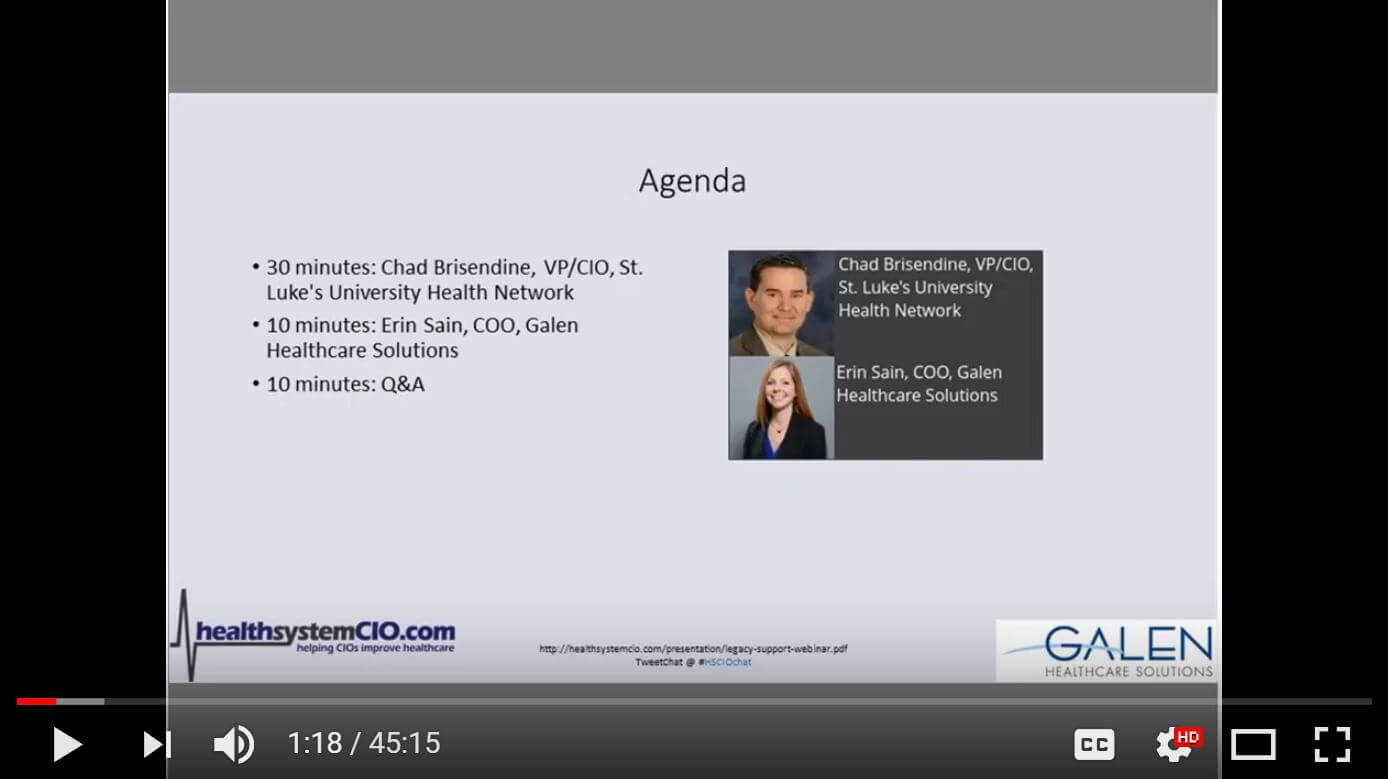 EHR Transitions Webinar: Legacy Support & Staff Aug