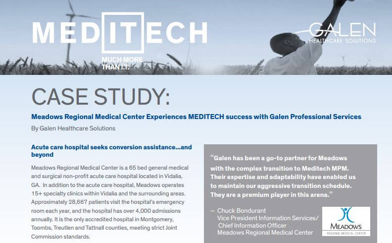 MEDITECH Implementation Case Study