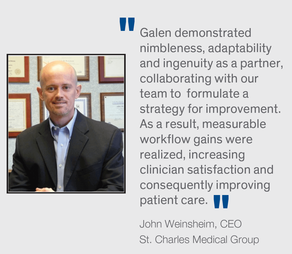 Galen Healthcare EHR Optimization Case Study
