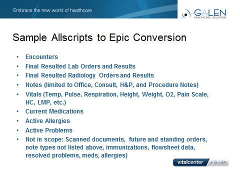 Conversions - Galen Healthcare Solutions
